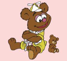 Muppet Babies - Fozzie Bear & Teddy - Arms Crossed One Piece - Long Sleeve