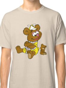 Muppet Babies - Fozzie Bear & Teddy - Arms Crossed Classic T-Shirt