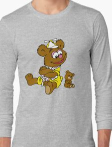 Muppet Babies - Fozzie Bear & Teddy - Arms Crossed Long Sleeve T-Shirt