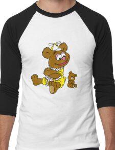 Muppet Babies - Fozzie Bear & Teddy - Arms Crossed Men's Baseball ¾ T-Shirt
