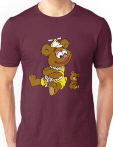 Muppet Babies - Fozzie Bear & Teddy - Arms Crossed Unisex T-Shirt