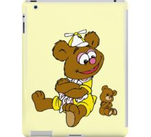 Muppet Babies - Fozzie Bear & Teddy - Arms Crossed iPad Case/Skin
