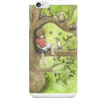 Time with friends iPhone Case/Skin