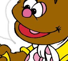 Muppet Babies - Fozzie Bear & Teddy - Banana Telephone Sticker