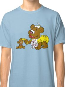 Muppet Babies - Fozzie Bear & Teddy - Banana Telephone Classic T-Shirt