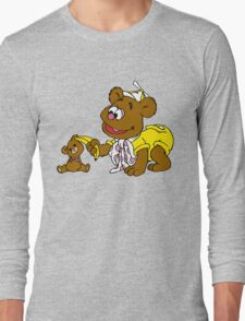 Muppet Babies - Fozzie Bear & Teddy - Banana Telephone Long Sleeve T-Shirt
