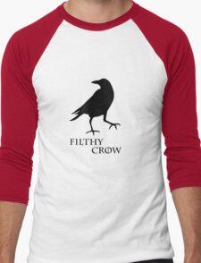 Filthy Crow Men's Baseball ¾ T-Shirt