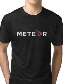 Meteor Black Tri-blend T-Shirt