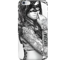 Tattoo Sirens - Catwoman iPhone Case/Skin