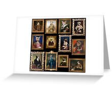 Pet Portrait Gallery Greeting Card