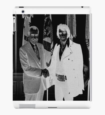 Richard Nixon & Elvis Presley iPad Case/Skin