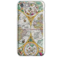 Vintage Map of the World iPhone Case/Skin