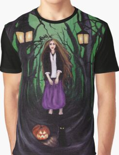 LOST IN A HAUNTED FOREST Graphic T-Shirt