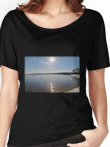 Snowfall Lakeside Women's Relaxed Fit T-Shirt