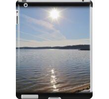 Snowfall Lakeside iPad Case/Skin