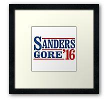 Sanders Gore 2016 Framed Print