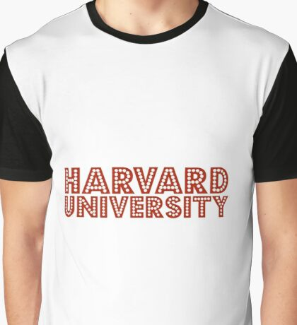 Harvard University Graphic T-Shirt