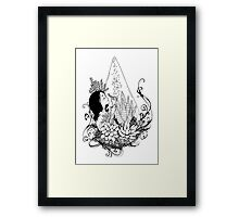 Gratitude - Red Bubble Art Party Framed Print
