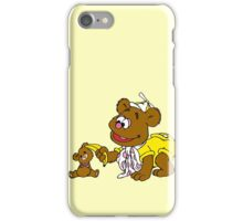 Muppet Babies - Fozzie Bear & Teddy - Banana Telephone iPhone Case/Skin