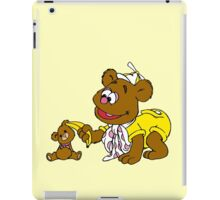 Muppet Babies - Fozzie Bear & Teddy - Banana Telephone iPad Case/Skin