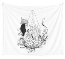 Gratitude - Red Bubble Art Party Wall Tapestry