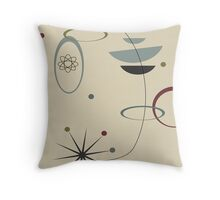 Atomic Throw Pillow