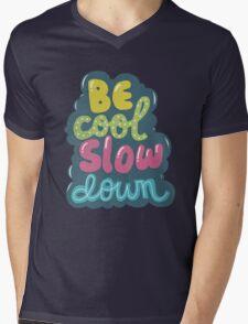 be cool, slow down Mens V-Neck T-Shirt