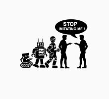 Funny robot evolution Unisex T-Shirt