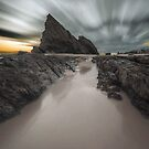 Currumbin Rock - Gold Coast Qld Australia by Beth  Wode