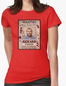 Richard White: Serial Killer Womens Fitted T-Shirt
