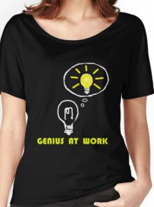 Genius at work Women's Relaxed Fit T-Shirt