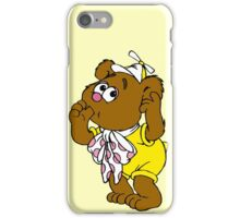 Muppet Babies - Fozzie Bear - Sucking Thumb iPhone Case/Skin