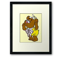 Muppet Babies - Fozzie Bear - Sucking Thumb Framed Print
