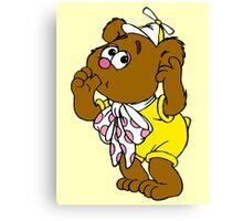 Muppet Babies - Fozzie Bear - Sucking Thumb Canvas Print