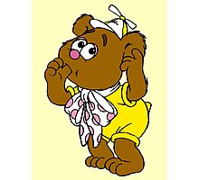 Muppet Babies - Fozzie Bear - Sucking Thumb Photographic Print