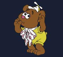 Muppet Babies - Fozzie Bear - Sucking Thumb One Piece - Long Sleeve