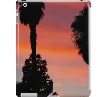 desert sunset - socal desert 2016 iPad Case/Skin