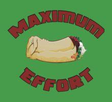 Maximum Effort Kids Tee