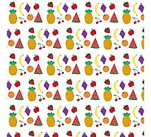 Cutey Fruity Photographic Print