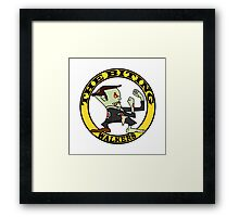 The Fighting Walkers with Logo Framed Print