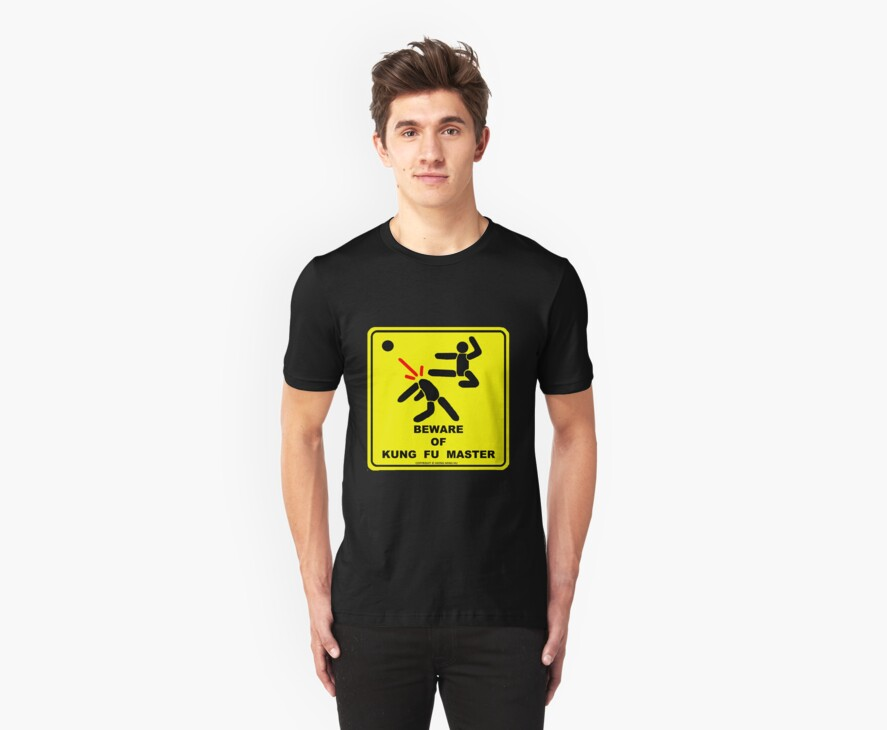 Beware of Kung Fu Master by NewSignCreation