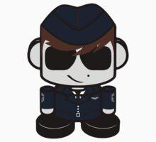 Aim High Air Force Hero'bot 2.0 Kids Tee
