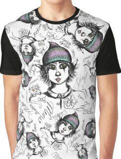 Teddy Boo and ASH Graphic T-Shirt