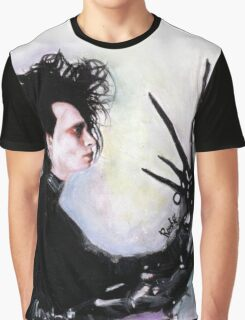 Edward Scissorhands Johnny Depp 90s Movie T-shirt