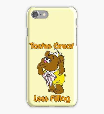 Muppet Babies - Fozzie Bear - Tastes Great - Sucking Thumb iPhone Case/Skin