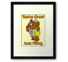 Muppet Babies - Fozzie Bear - Tastes Great - Sucking Thumb Framed Print