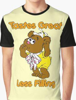 Muppet Babies - Fozzie Bear - Tastes Great - Sucking Thumb Graphic T-Shirt