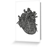 hollow heart Greeting Card