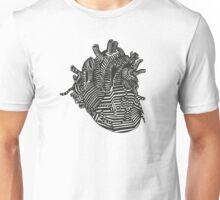 hollow heart Unisex T-Shirt