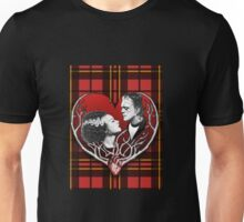 We Were Made For Each Other - Plaid Unisex T-Shirt